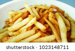 french fries  chips collateral... | Shutterstock . vector #1023148711