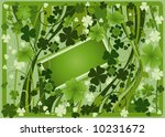 frame for the st. patrick's day | Shutterstock .eps vector #10231672