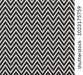 seamless zig zag geometric... | Shutterstock .eps vector #1023175759