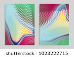 abstract cover template with... | Shutterstock .eps vector #1023222715