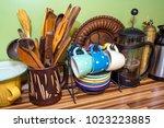 the kitchen utensils