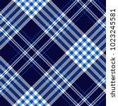 plaid check pattern in dark... | Shutterstock .eps vector #1023245581