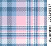 plaid check patten in shades of ... | Shutterstock .eps vector #1023245587