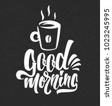hand drawn typography lettering ... | Shutterstock .eps vector #1023245995