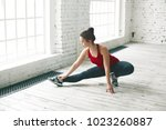 sports  fitness and activity... | Shutterstock . vector #1023260887