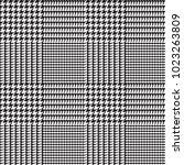 glen plaid vector pattern in... | Shutterstock .eps vector #1023263809