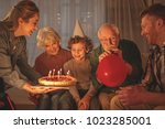 Outgoing Mother Giving Cake...