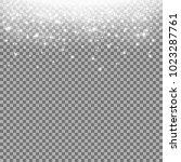 glittering stardust on... | Shutterstock .eps vector #1023287761