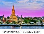 wat arun ratchawararam  a...   Shutterstock . vector #1023291184