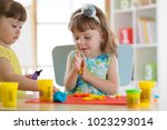 children creativity. kid... | Shutterstock . vector #1023293014