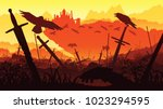 a high quality background of... | Shutterstock .eps vector #1023294595