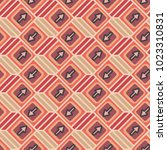 seamless abstract pattern with... | Shutterstock .eps vector #1023310831