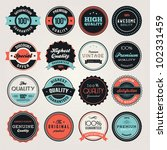 set of business labels and and... | Shutterstock .eps vector #102331459