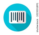 barcode icon. e commerce sign....