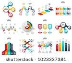 vector infographics  diagram ... | Shutterstock .eps vector #1023337381