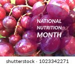 Small photo of National nutrition month