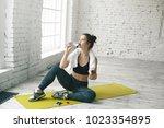people  body shape  health ... | Shutterstock . vector #1023354895