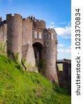 medieval dover castle gateway ... | Shutterstock . vector #1023370834