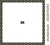 border or frame of abstract... | Shutterstock . vector #1023376351