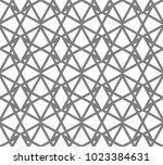 abstract geometric gray... | Shutterstock .eps vector #1023384631