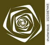 rose. vector flower. beautiful...   Shutterstock .eps vector #1023387445