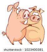 vector illustration of a cute...   Shutterstock .eps vector #1023400381