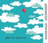vector illustration of red... | Shutterstock .eps vector #1023403009