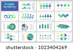 successful business slide... | Shutterstock .eps vector #1023404269