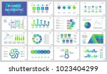 management project slide... | Shutterstock .eps vector #1023404299