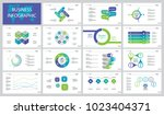 fifteen management slide... | Shutterstock .eps vector #1023404371