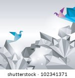 abstract background. paper is... | Shutterstock .eps vector #102341371