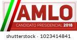 amlo  andres manuel lopez... | Shutterstock .eps vector #1023414841