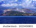 vulcano island  lipari  italy | Shutterstock . vector #1023430801