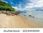 beaches of the island of cu lao ... | Shutterstock . vector #1023443044