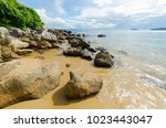beaches of the island of cu lao ... | Shutterstock . vector #1023443047