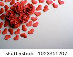 love valentines day romantic... | Shutterstock . vector #1023451207