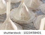 seeds on germination table...   Shutterstock . vector #1023458401