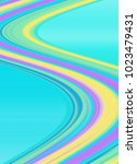 pastel  turqouse waves  modern...   Shutterstock . vector #1023479431