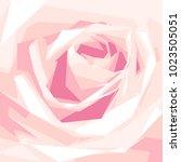 Vector Purple Rose Flower...