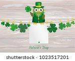 owl in the national costume for ...   Shutterstock .eps vector #1023517201