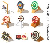 business game performance icons ... | Shutterstock .eps vector #1023562537