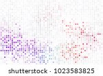dark pink  red vector banner... | Shutterstock .eps vector #1023583825