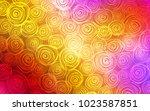 light multicolor vector natural ... | Shutterstock .eps vector #1023587851