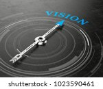 business vision concept  ... | Shutterstock . vector #1023590461