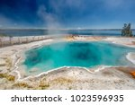Hot Thermal Spring Black Pool...