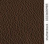 brown leather texture closeup... | Shutterstock . vector #1023600985