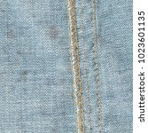 blue old and dirty denim... | Shutterstock . vector #1023601135