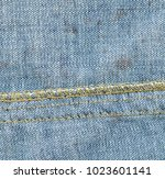 blue old and dirty denim... | Shutterstock . vector #1023601141