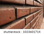 close up details of a orange... | Shutterstock . vector #1023601714
