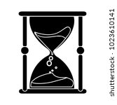 sand hourglass icon | Shutterstock .eps vector #1023610141